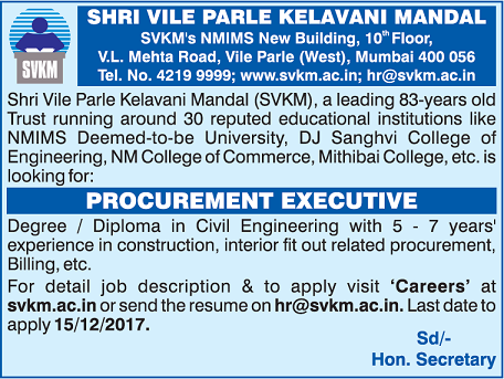 Procurement Executive