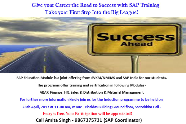 SAP Training Program SVKM