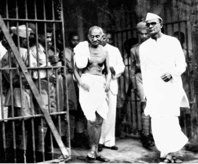 Gandhi in Jail
