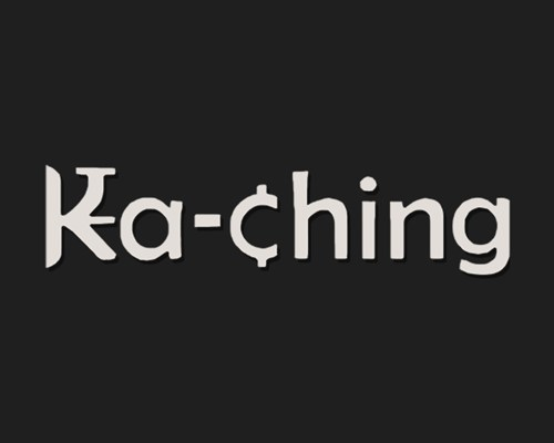 logo for ka-ching